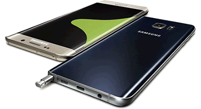 Galaxy Note 5 et GS6